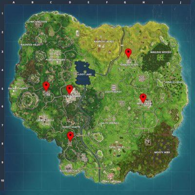چالش های هفته ی نهم بازی Fortnite