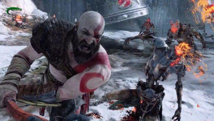 درجه سختی بازی God of War