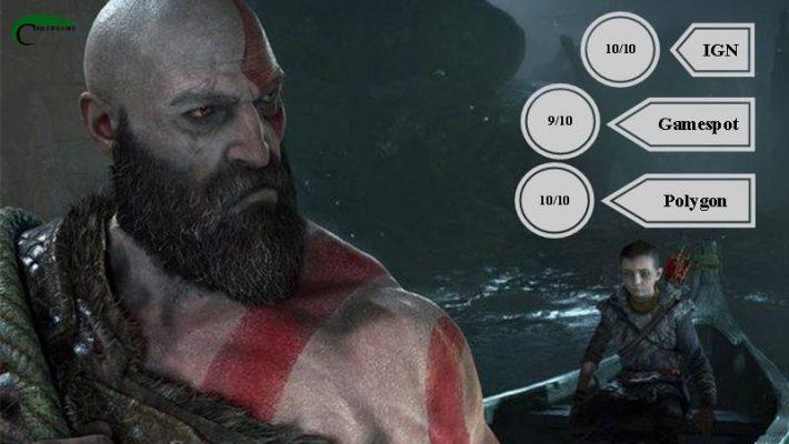 نمرات بازی God of War