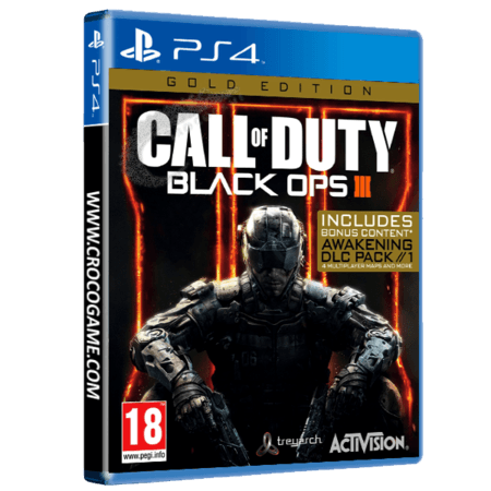 خرید بازی Call of Duty Black Ops 3 Gold Edition
