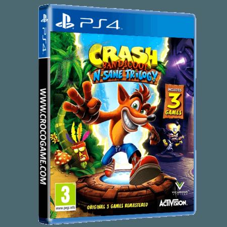 خرید بازی Crash Bandicoot N-sane Trilogy