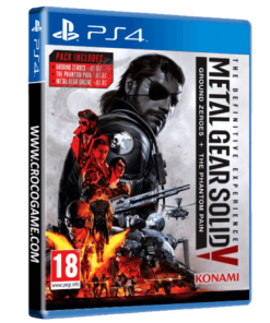 خرید بازی Metal Gear Solid V Ground Zero + The Phantom Pain