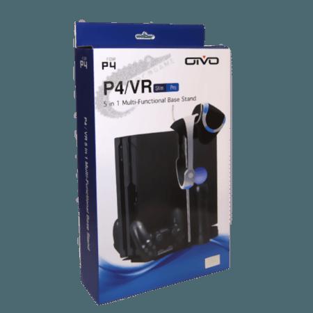 خرید پایه فن دار شارژر دسته 5 منظوره PS4 و PlayStation VR