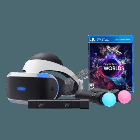 خرید باندل PS VR به همراه (PlayStation VR (Camera+Move+Game