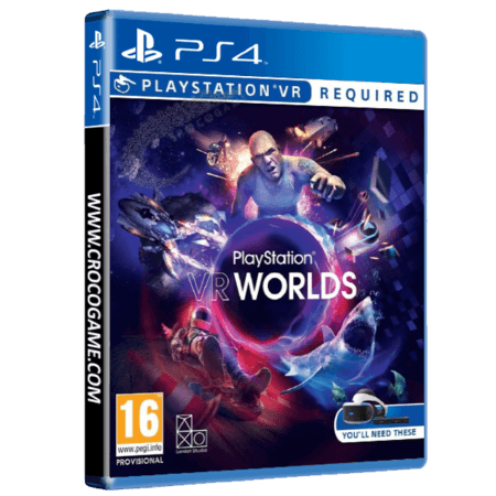 خرید بازی PlayStation VR Worlds