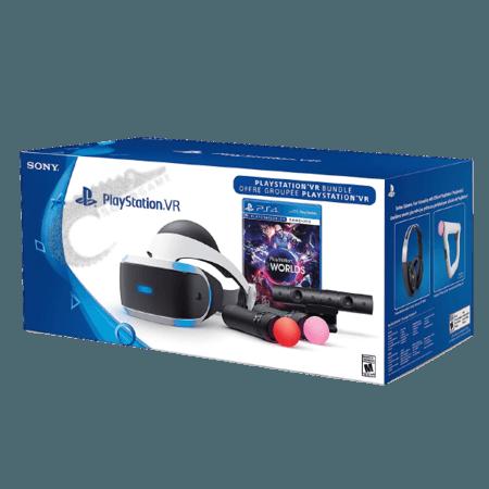 خرید باندل PS VR به همراه (PlayStation VR (Camera+Move+Game |