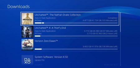 سیستم مدیریت دانلود PS4