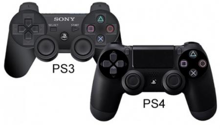 کنترلر PS3 با دسته ی PS4