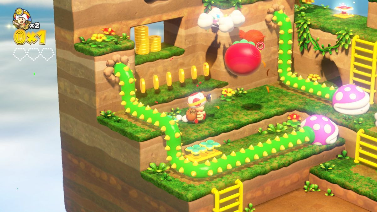 بازی Captain Toad