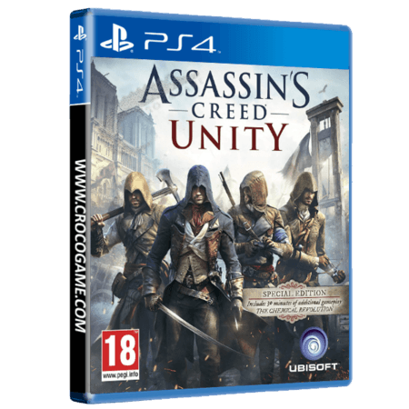 خرید بازی Assassins Creed Unity برای PS4