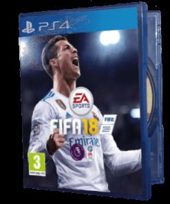 خرید بازی دست دوم و کارکرده FIFA 18 Standard Edition برای PS4