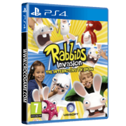 خرید بازی Rabbids Inavasion rhe intreractive TV show برای PS4
