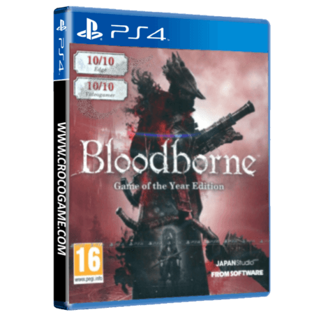خرید بازی Bloodborne Game Of the Yaer Edition برای PS4