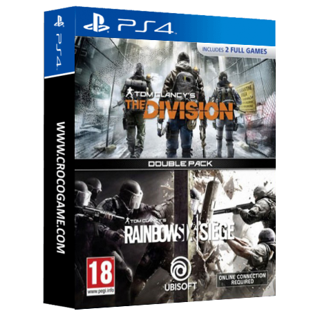 خرید بازی Tom Clancy's The Division + Tom Clancy's Rainbow Six Siege Double Pack