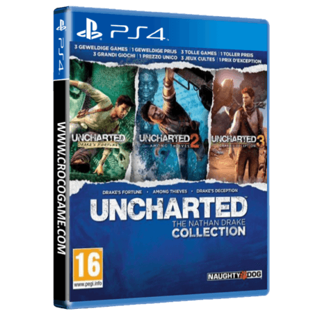 خرید بازی Uncharted The Nathan Drake Collection برای PS4
