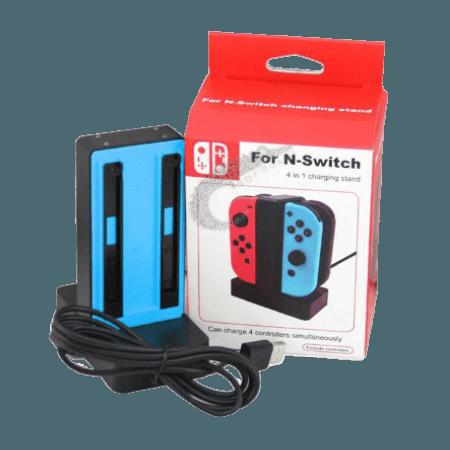 خرید پایه شارژر چهارتایی دسته نینتندو Nintendo Switch Joy-Con