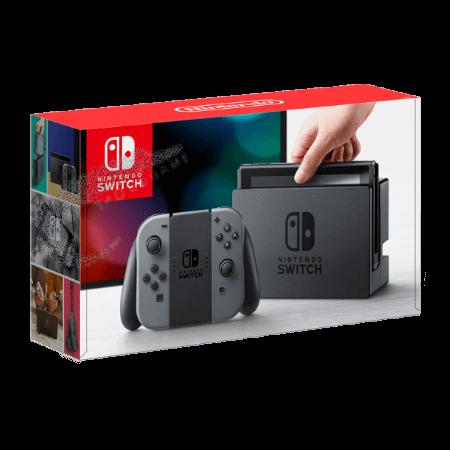 خرید کنسول نینتندو سوئیچ خاکستری Nintendo Switch