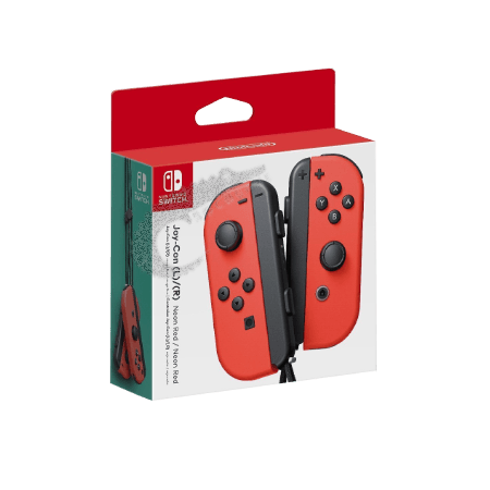 دسته قرمز نینتندو سوئیچ Neon Red Nintendo Switch Joy-Con Controller