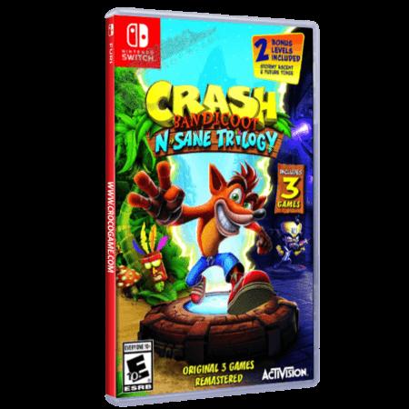 خرید بازی Crash Bandicoot N. Sane Trilogy برای Nintendo Switch