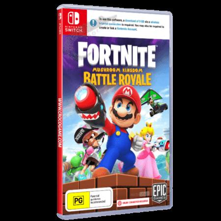 خرید بازی Fortnite Mushroom Kingdom برای Nintendo Switch