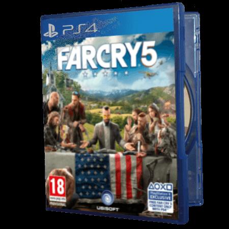 خرید بازی دست دوم و کارکرده farcry 5 برای PS4