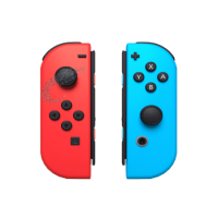 دسته قرمز/آبی نینتندو سوئیچ Neon Red/Neon Blue Nintendo Switch Joy-Con Controller