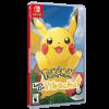 خرید بازی Pokemon Let's Go Pikachu برای Nintendo Switch