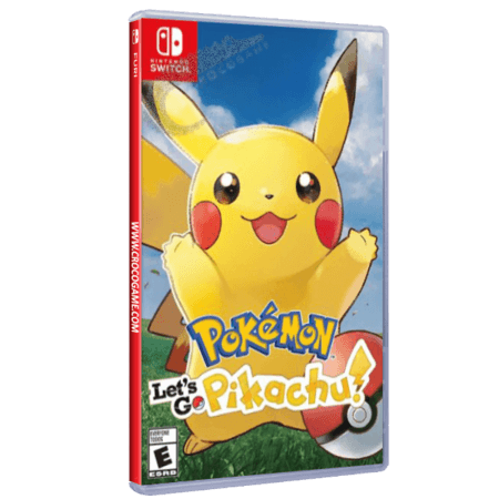 خرید بازی Pokemon Let's Go Pikachu برای Nintendo Switch