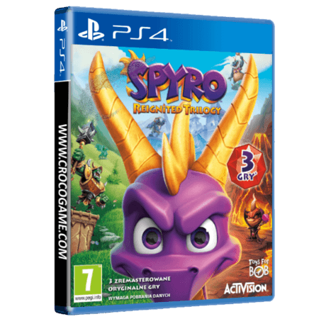 خرید بازی Spyro Reignited Trilogy برای PS4
