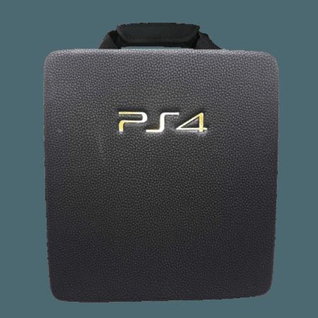 خرید کیف مشکی طرح دار Hard Case برای کنسول PS4 Pro