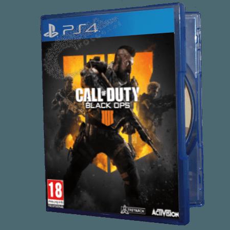 خرید بازی دست دوم و کارکرده Call of Duty Black Ops 4 برای PS4 |