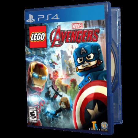 خرید بازی دست دوم و کارکرده Lego Marvel Avengers برای PS4