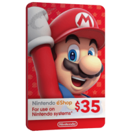خرید گیفت کارت 35 دلاری Nintendo