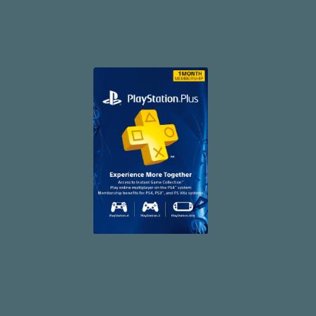 خرید گیفت کارت Playstation Plus 1 ماهه آمریکا