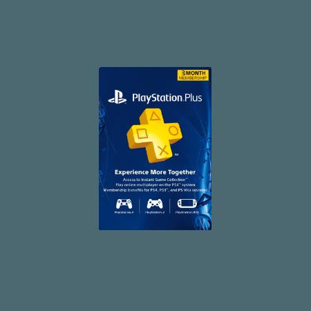 خرید گیفت کارت Playstation Plus 3 ماهه آمریکا