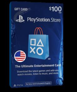 خرید گیفت کارت 100 دلاری Playstation آمریکا