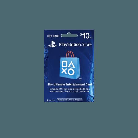 خرید گیفت کارت 10 دلاری Playstation آمریکا