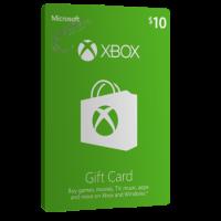 خرید گیفت کارت 10 دلاری XBOX