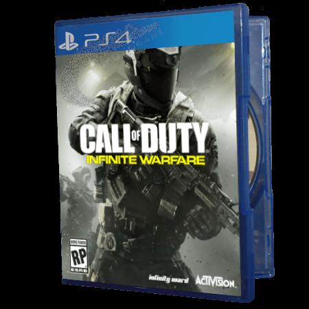 خرید بازی دست دوم و کارکرده Call Of Duty Infinite Warfare برای PS4