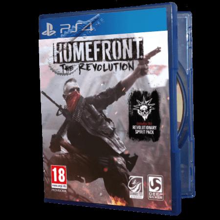 خرید بازی دست دوم و کارکرده Homefront The Revolution برای PS4