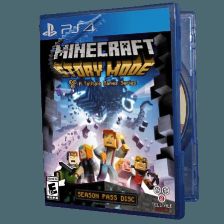خرید بازی دست دوم و کارکرده Minecraft Story Mode برای PS4