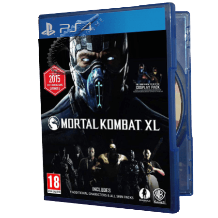 خرید بازی دست دوم و کارکرده Mortal Kombat XL برای PS4