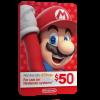 خرید گیفت کارت 50 دلاری Nintendo
