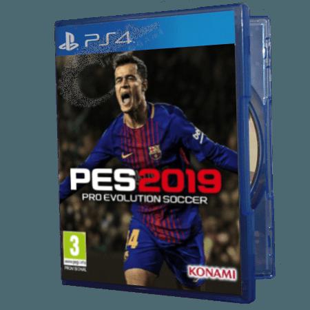خرید بازی دست دوم و کارکرده PES 2019 برای PS4
