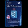 خرید گیفت کارت 30 پوندی Playstation انگلیس