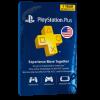 خرید گیفت کارت 12 ماهه Playstation Plus آمریکا