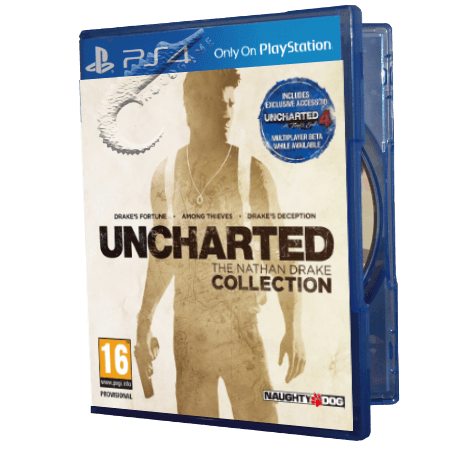 خرید بازی دست دوم و کارکرده Uncharted The Nathan Drake Collection برای PS4