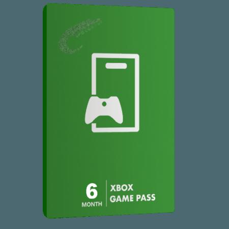 خرید گیفت کارت 6 ماهه Game Pass XBOX