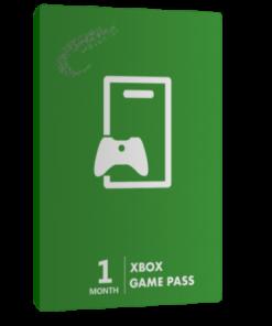 خرید گیفت کارت 1 ماهه Game Pass XBOX