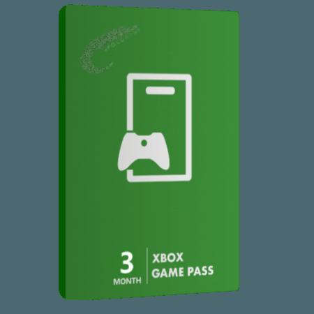 خرید گیفت کارت 3 ماهه Game Pass XBOX